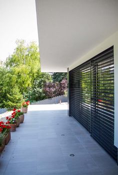 alumark zsaluzia Sidewalk, Exterior, Modern, House, Trendy Tree, Home, Side Walkway, Walkway, Outdoor Rooms