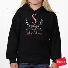 S is for Stella Personalized Girls Clothes - Girly Chic - 15435