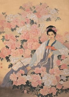 Wang Meifang(王美芳) &   Zhao Guojing(赵国经) , 倚春