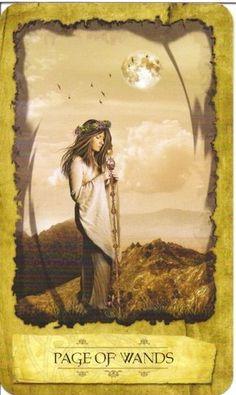 Thông tin Lá Page of Wands - Mystic Dreamer Tarot bài tarot Xem thêm tại http://tarot.vn/la-page-of-wands-mystic-dreamer-tarot/