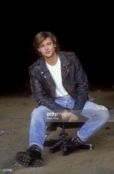 Brad Pitt   chair and dust