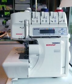 Sewing Machines Bernina Serger - Sergers are a boon to the home sewist, but sometimes they can be intimidating. Learn to conquer thread tensions and basic serger settings.