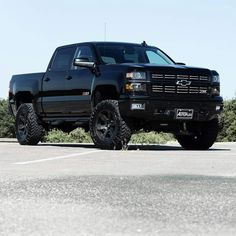2015 Chevrolet Silverado 1500 Midnight Edition lifted