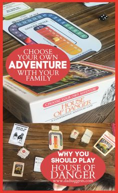 Choose Your Own Adventure: House of Danger is the ultimate combination of storytelling and gaming for your family. The imagination of our kids lights up when they're given choices during the story. This is a fantastic family game. Family Board Games, Board Games For Kids, Games For Girls, Alone Game, Fun Card Games, Adventure Games, Couple Games, Kids Lighting, Family Game Night