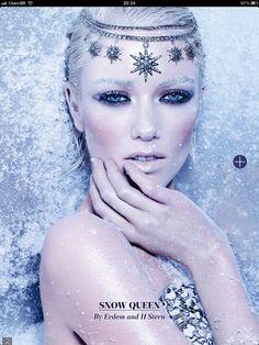 Snow Queen, Harrods magazine June 2012 - By Erdem and H Stern