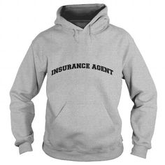 Make this awesome proud Insurance Agent: insurance agent college style curved log t shirt  Mens T Shirt as a great gift Shirts T-Shirts for Insurance Agents
