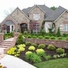 Love how comfortable yet formal this house looks