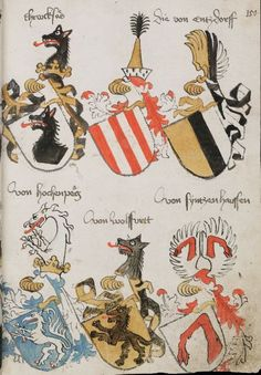 Wappenbuch des St. Galler Abtes Ulrich Rösch Heidelberg · 15. Jahrhundert Cod. Sang. 1084 Folio 150