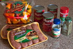 Teri's Pressure Cooker Sausage & Peppers ~~ http://www.pressurecookingtoday.com/2015/03/teris-pressure-cooker-sausage-and-peppers/?fb_action_ids=10204692928216009&fb_action_types=news.publishes&fb_ref=pub-standard
