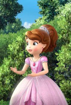 Disney Princesses And Princes, Disney Princess Frozen, Disney Princess Dresses, Barbie Princess, Princess Sofia Party, Princess Sofia The First, Princess Birthday, Cartoon Girl Drawing, Girl Cartoon