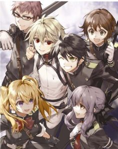 Owari no Seraph i admire the artist of this work, as well as the original author of the series (kudos to you!)