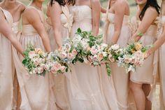 Photography: Luke Simon Photography. These bridesmaids dresses!