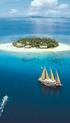 Fiji... visit us: fijiresort.com Her vært innom Jean-Michel Cousteau Resort på Fiji og dykket med de. Fantastisk!