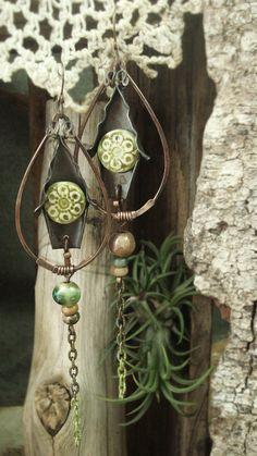 Elfie  Fairytale inspired Earrings by AlteredAlchemy on Etsy, $58.00