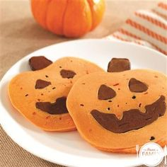 Our Chocolate Halloween Pancakes recipe make a fun breakfast treat for your little ones. #everymealmatters