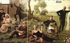photo shoot of The Princess Bride cast reunion, for Entertainment Weekly (minus a few cast members...)