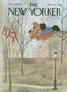 The New Yorker - Saturday, November 26, 1966 - Issue # 2180 - Vol. 42 - N° 40 - Cover by : Charles E. Martin
