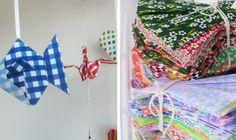 Origami: Estefanía Berti (uruguaya) y Verónica Mastronardi (argentina). Mil grullas y pide tu deseo