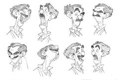 Disney Art Sketches Character Design Facial Expressions New Ideas Character Design Cartoon, Character Sketches, Character Design References, Character Drawing, Comic Character, Character Illustration, Character Concept, Illustration Art, Animation Character