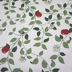 Kids Rugs, Home Decor, Cotton Fabric, Scandinavian, Sweden, Farmhouse, Apple, Household, Red
