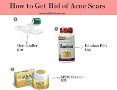 3 Ways to Get Rid of Acne Scars