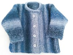 This is a flat knit cardigan design, worked from side to side in a single piece.  It is a lovely, easy and quick knit design, suitable for boys and girls alike. Makes a stylish, warm and cosy top. Have fun and add a personal touch by adding novelty buttons.  Pattern comes in 5 sizes: 0-6 months, 6- 12 months, 12 -24 months, 2-3 years, 3-4 years  It features the ever popular garter stitch, which creates a very attractive and practical fabric, perfect for babies and children. Garter stitch…