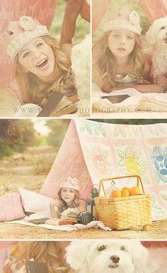 Little girl photogra