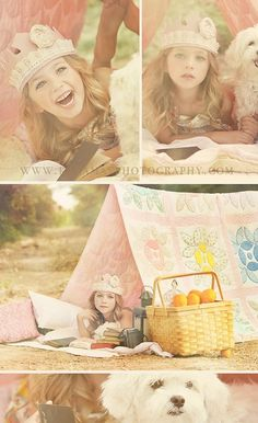 Little girl photography session . Would like to do this with my little girl .