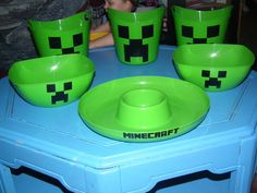 minecraft party set free shipping !