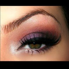 I do this look a lot. It's great for defining eyes with a heavy brow bone, and playing up dark eyes.