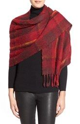 MARC BY MARC JACOBS Plaid Blanket Scarf