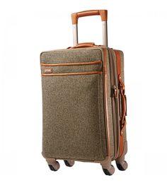 Hartmann Tweed Belting Mobile Traveler Expandable Spinner 21