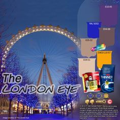 The London Eye #‎BiasaJadiLuarBiasa‬ #EMCOPaint http://matarampaint.com/detailNews.php?n=345