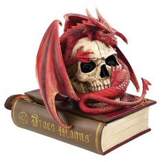 Design Toscano Blood Dragon Contemplation Sculptural Box -- Continue with the details at the image link. #GardenDecor
