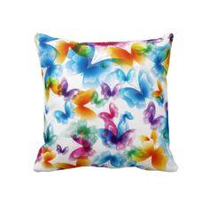 Bright Butterflies Pillow