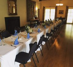 Intimate dining experience inside the Kellogg House #kellogghouse #venue #events