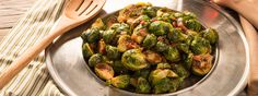 Roasted Brussels Sprout With Bacon
