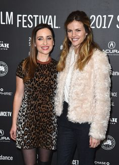"""Zoe Lister Jones Photos Photos - Director Zoe Lister-Jones and actress Brooklyn Decker attend the """"Band Aid"""" Premiere at Eccles Center Theatre on January 24, 2017 in Park City, Utah. - 'Band Aid' Premiere - 2017 Sundance Film Festival"""