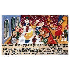 Ki Tavo Limited Edition Giclée by Michal Meron with Torah Portion Scenes