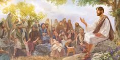Jesus teaching his followers about God's Kingdom, a real Government that is ruling right now. It's the Kingdom we pray for. It's organizing the greatest Witnessing campaign in history, in fulfillment of Matthew 24:14.  To learn more see JW.org download for free over 600 languages.