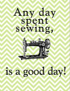 Always Sew Love: Sewing Room Art