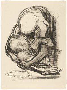 Death Grasps at Children, Käthe Kollwitz
