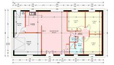 maisons plain pied 3 chambres de 91 m construite par demeures familiales - Plan Maison Plain Pied 150m2 Gratuit