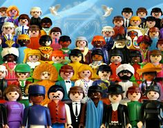 Playmobil by Richard Unglick - United colors of Benetton
