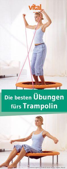 Mit Schwung zu starken Muskeln und Knochen: Trampolin-Training macht fit und hilft uns wie im Flug beim Abnehmen.
