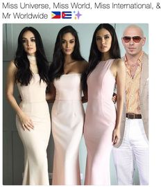 Miss Universe, Miss World, Miss International, & Mr Worldwide ✨ | Mr. Worldwide | Know Your Meme Pitbull memes