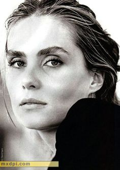 Emmanuelle Seigner, French actress, singer and model and wife of Roman Polanski