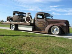 Towing our #Hotrods.