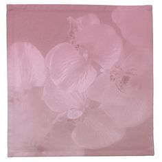 """Orchid Mist""(custom napkins) design by Kay Novy, kkphoto1  Make an impression on your guests with custom napkins from Zazzle. Perfect for parties or seasonal events, these 100% cotton napkins print vibrantly with your designs, photos, text, or monogram. With sizes for cocktail parties and dinner parties, you're sure to find a set of custom napkins that will be the center piece of your event.  http://www.zazzle.com/orchid_mist-185634361269220430"