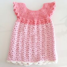 Baby Girl Crochet, Crochet Bebe, Crochet Baby Clothes, Crochet For Kids, Diy Crochet, Crochet Top, Baby Poncho, Baby Barn, Summer Knitting